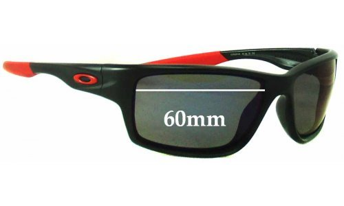 Sunglass Fix Sunglass Replacement Lenses for Oakley Canteen OO9225 - 60mm Wide
