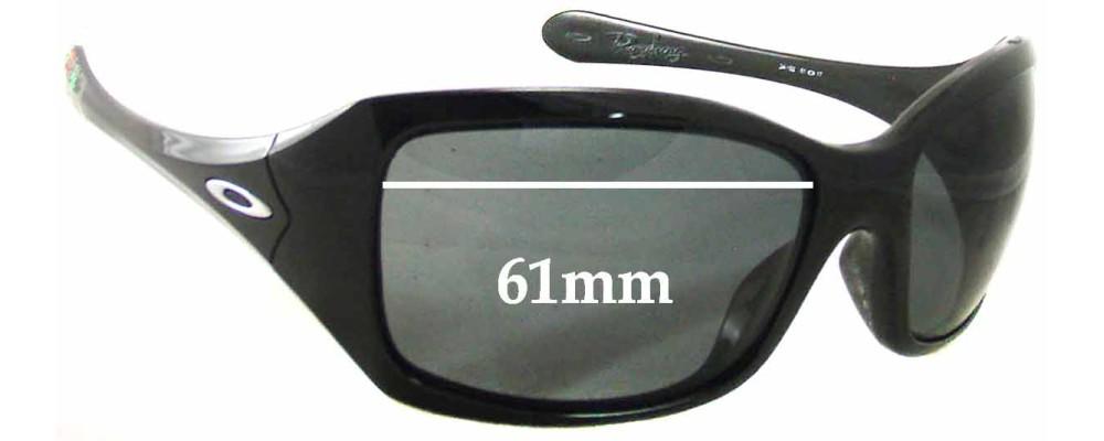 Sunglass Fix Sunglass Replacement Lenses for Oakley Ravishing Taca - 61mm Wide