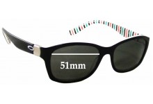 Sunglass Fix Sunglass Replacement Lenses for Oakley Convey OX1059 - 51mm Wide