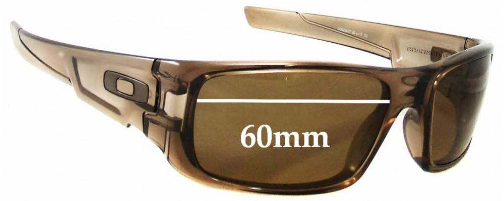 Sunglass Fix Sunglass Replacement Lenses for Oakley Crankshaft - 60mm wide 2895cf6007
