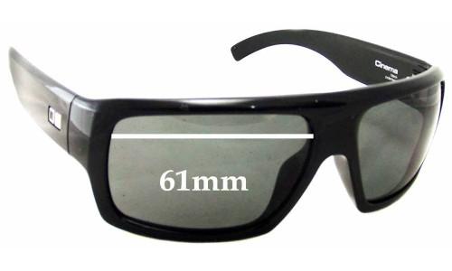 Sunglass Fix Sunglass Replacement Lenses for Otis Cinema - 61mm wide