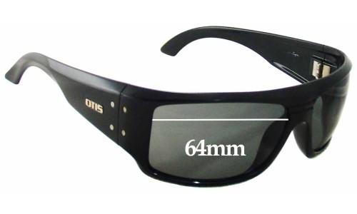 Sunglass Fix Sunglass Replacement Lenses for Otis Kingpin - 64mm Wide