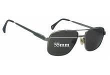 Sunglass Fix Sunglass Replacement Lenses for Paul Davids Mod 126 - 55mm Wide