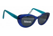 Sunglass Fix Sunglass Replacement Lenses for Paul Taylor Clancy - 50mm Wide
