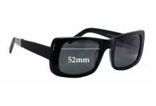 Sunglass Fix Sunglass Replacement Lenses for Paul Taylor Maren - 52mm Wide
