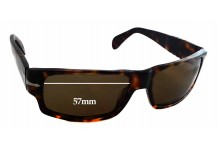 Sunglass Fix Sunglass Replacement Lenses for Persol 2720-S - 57mm Wide - 35mm Tall