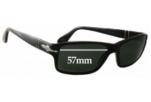 Sunglass Fix Sunglass Replacement Lenses for Persol 2761-S - 57mm Wide