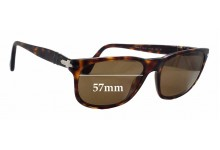 Sunglass Fix Sunglass Replacement Lenses for Persol 2989-S - 57mm Wide
