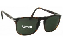 Sunglass Fix Sunglass Replacement Lenses for Persol 3059-S - 54mm Wide