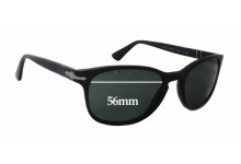 Sunglass Fix Sunglass Replacement Lenses for Persol 3086-S - 56mm Wide x 43mm Tall