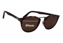 Sunglass Fix Sunglass Replacement Lenses for Persol 3108-S Typewriter Edition - 49mm Wide