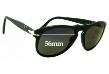 Sunglass Fix Sunglass Replacement Lenses for Persol 649 - 56mm Wide