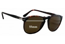 Sunglass Fix Sunglass Replacement Lenses for Persol 9649-S - 55mm Wide