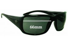 Sunglass Fix Sunglass Replacement Lenses for Police S1628 - 66mm Wide