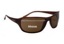 Sunglass Fix Sunglass Replacement Lenses for Police S1669 - 66mm Wide