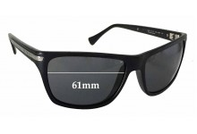 Sunglass Fix Sunglass Replacement Lenses for Police S1802 Dust 2 - 61mm Wide