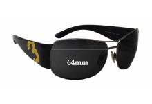 Sunglass Fix Sunglass Replacement Lenses for Ralph Lauren Polo 3042 - 64mm Wide