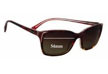 Sunglass Fix Sunglass Replacement Lenses for Prada SPR02O - 54mm Wide