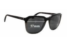 Sunglass Fix Sunglass Replacement Lenses for Prada SPR02R - 57mm Wide