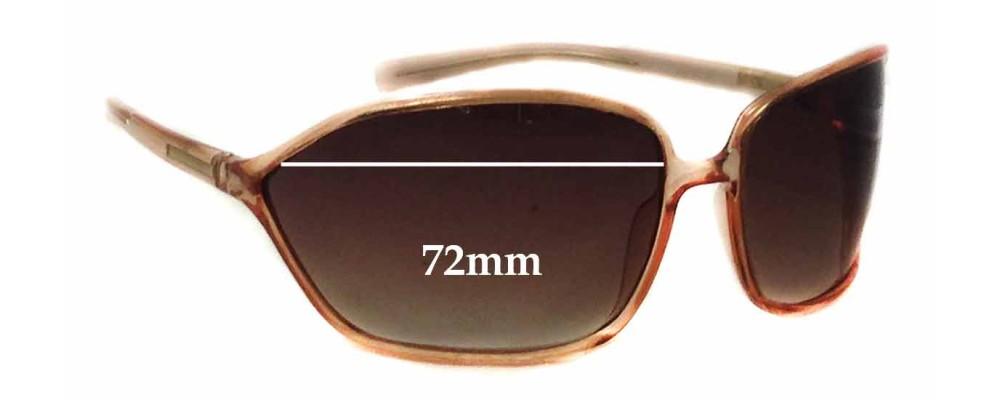 Sunglass Fix Sunglass Replacement Lenses for Prada SPR04E - 72mm Wide