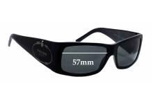 Sunglass Fix Sunglass Replacement Lenses for Prada SPR11H - 57mm Wide