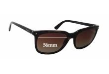 Sunglass Fix Sunglass Replacement Lenses for Prada SPR12R - 56mm Wide x 44mm Tall