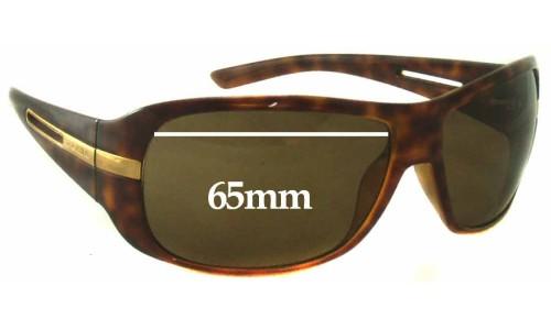 Sunglass Fix Sunglass Replacement Lenses for Prada SPR15H - 65mm Wide
