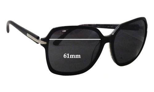 Sunglass Fix Sunglass Replacement Lenses for Prada SPR 18N - 61mm Wide