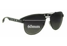 Sunglass Fix Sunglass Replacement Lenses for Prada SPR51R - 60mm Wide