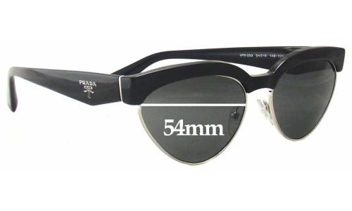 Sunglass Fix Sunglass Replacement Lenses for Prada VPR05Q - 54mm wide