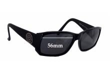 Sunglass Fix Sunglass Replacement Lenses for Prego 18225 - 56mm Wide