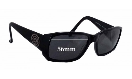 Sunglass Fix Sunglass Replacement Lenses for Prego 18225 - 56mm Wide