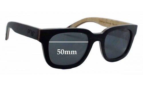 Sunglass Fix Sunglass Replacement Lenses for Proof Pledge - 50mm Wide