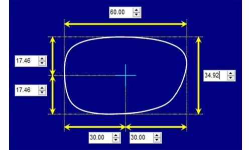 Sunglass Fix Sunglass Replacement Lenses for Picaso Australia CJ2144 - 60mm Wide