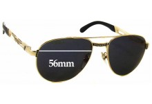 Sunglass Fix Sunglass Replacement Lenses for Police 2255 - 56mm Wide