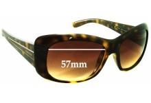 Sunglass Fix Sunglass Replacement Lenses for Prada SPR04L - 57mm Wide