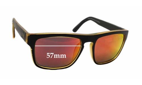 Sunglass Fix Sunglass Replacement Lenses for Quiksilver Sun Rx 04 - 57mm Wide x 45mm Tall