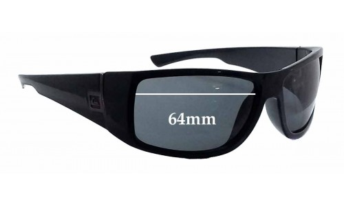 Sunglass Fix Sunglass Replacement Lenses for Quiksilver Transition - 64mm Wide
