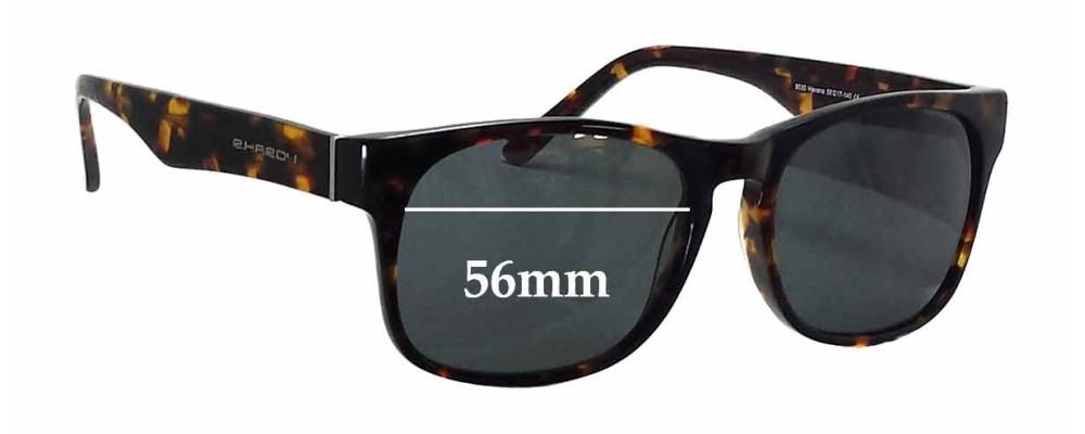 Sunglass Fix Sunglass Replacement Lenses for R. Hardy 9030 Havana - 56mm Wide
