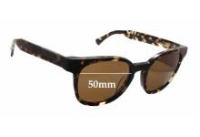 Sunglass Fix Sunglass Replacement Lenses for Raen Squire - 50mm Wide x 43mm Tall