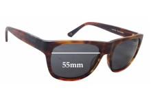 Sunglass Fix Sunglass Replacement Lenses for Raen Volta - 55mm Wide x 42mm Tall