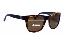 Sunglass Fix Sunglass Replacement Lenses for Ralph Lauren PH 4090 - 54mm Wide