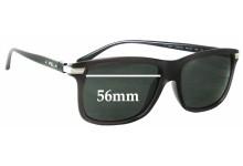 Sunglass Fix Sunglass Replacement Lenses for Ralph Lauren PH 4084 - 56mm Wide