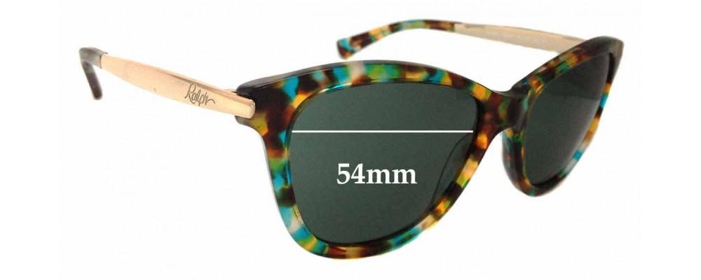 28beaf9bfc Sunglass Fix Sunglass Replacement Lenses for Ralph Lauren RA5201 - 54mm wide