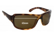 Sunglass Fix Sunglass Replacement Lenses for Ray Ban RB4075 - 62mm Wide x 38mm Tall x 38mm Tall