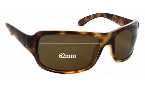 Sunglass Fix Sunglass Replacement Lenses for Ray Ban RB4075 - 62mm Wide