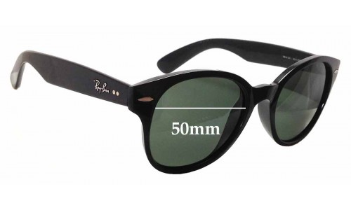 Sunglass Fix Sunglass Replacement Lenses for Ray Ban RB4141 - 50mm Wide
