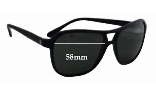 Sunglass Fix Sunglass Replacement Lenses for Ray Ban Bausch Lomb Nylon Aviator - 58mm wide