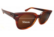 Sunglass Fix Sunglass Replacement Lenses for Ray Ban RB4168 Meteor - 50mm Wide