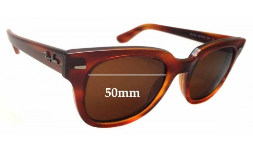 Sunglass Fix Sunglass Replacement Lenses for Ray Ban Meteor RB4168 - 50mm wide